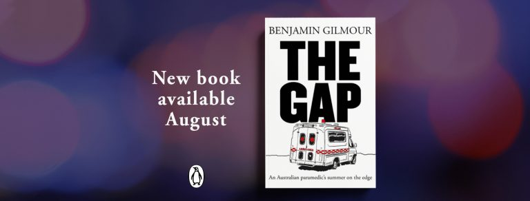 New book 'The Gap' launched August 9th